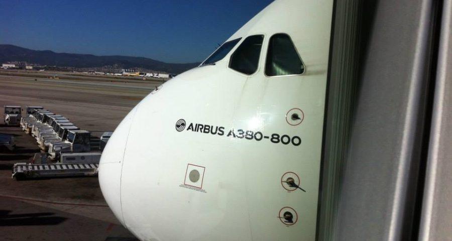 Visitamos el A380 de Emirates