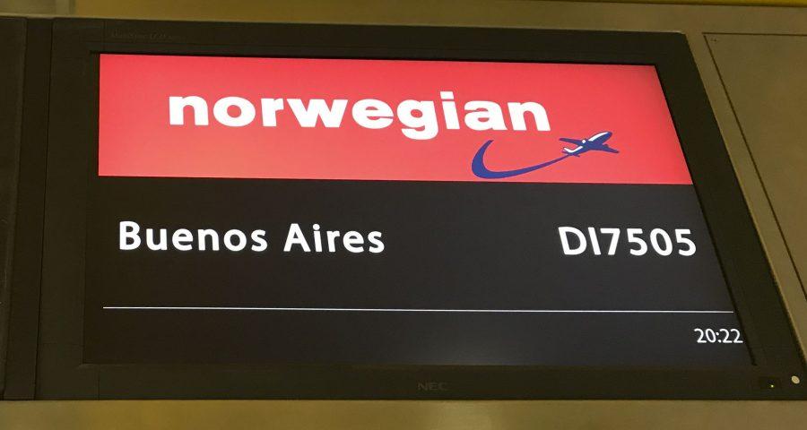A bordo de… Norwegian Premium Economy