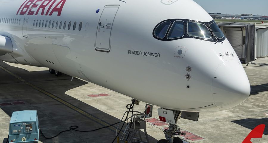 Iberia crece en Latinoamerica y con el A350 a ….