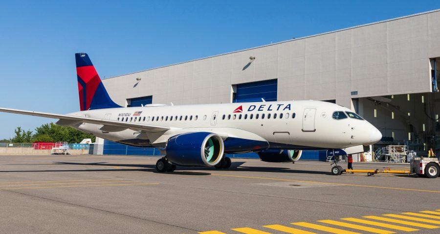 Delta recibe su A220