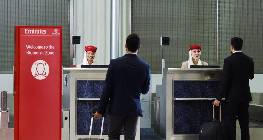 "Emirates presenta la primera ""ruta biométrica"""