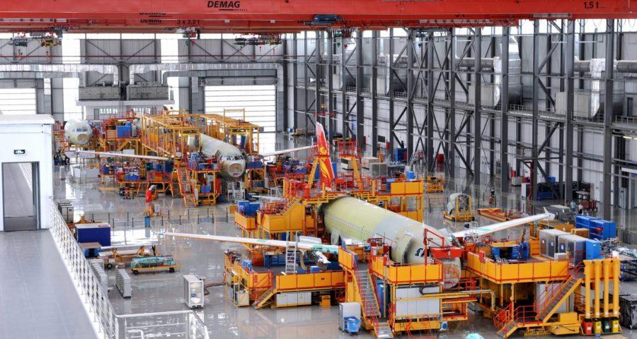 10 años de la primera planta de Airbus fuera de Europa