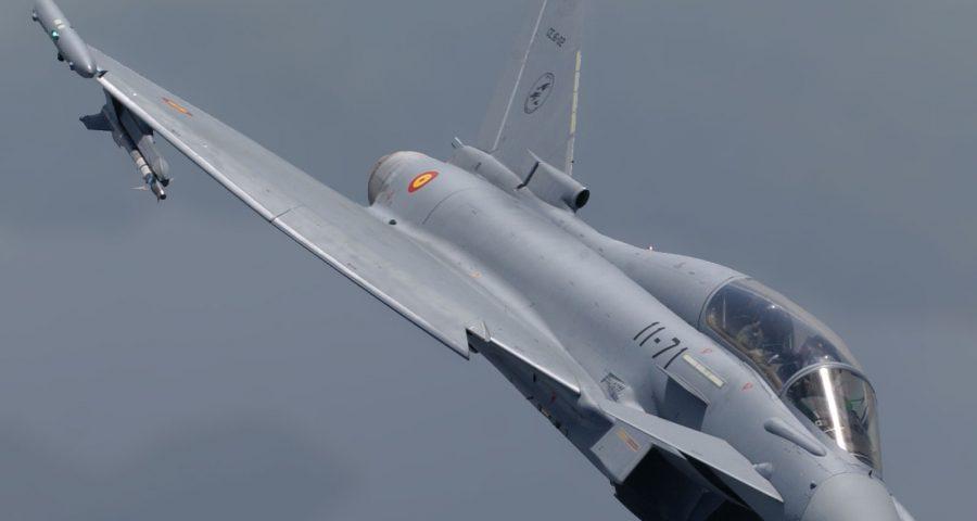 El Ala 11, referente europeo en la formación del Eurofighter