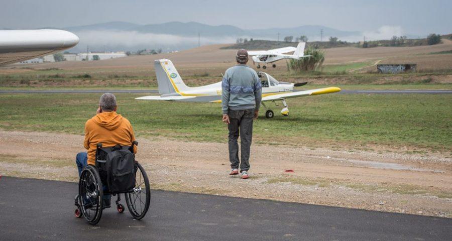2ª jornada de aviación adaptada en Odena/Igualada