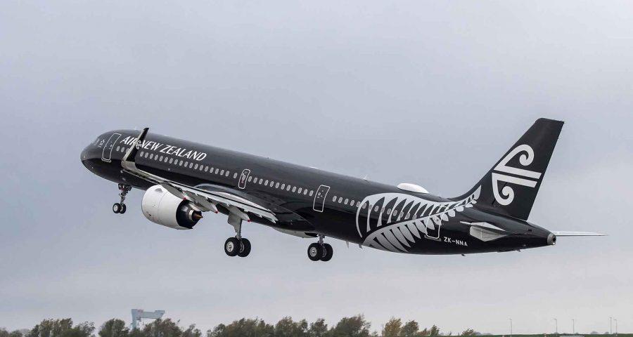 Air New Zealand recibe su primer A321neo