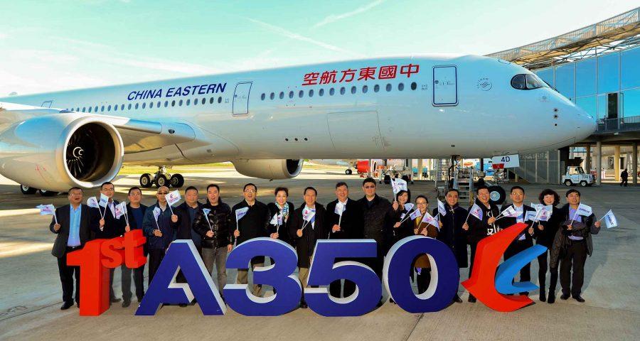 China Eastern recibe su primer A350-900