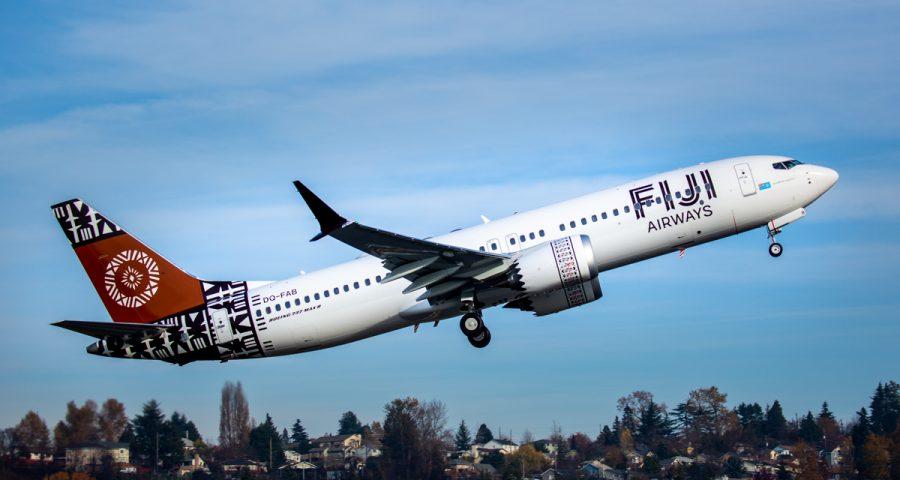 Boeing entrega el primer avión 737 MAX de Fiji Airways
