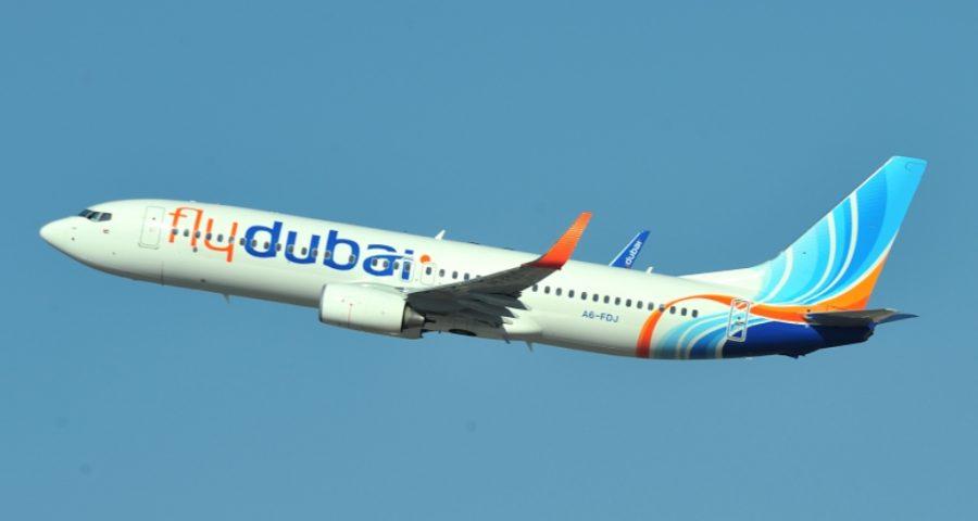 A bordo de…. Fly Dubai