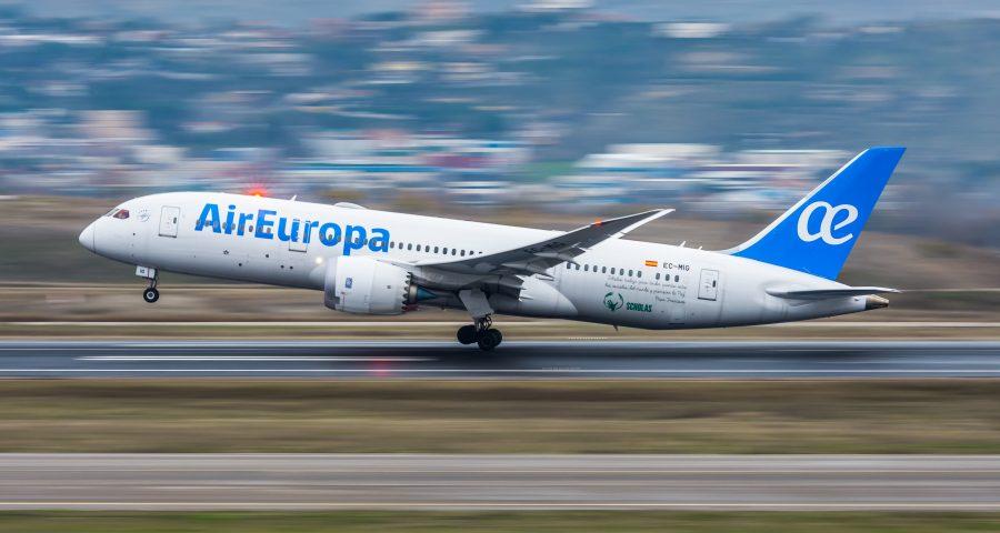 Código compartido entre Air Europa y Copa Airlines