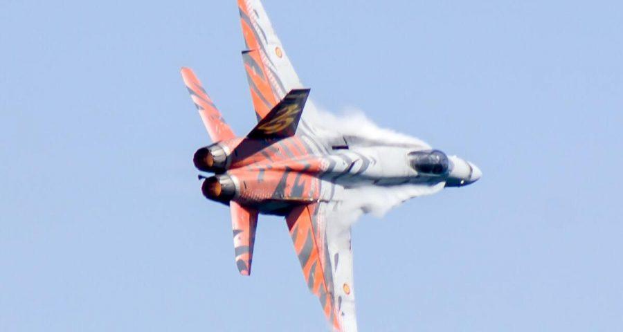 30 años del primer servicio de alarma de los F-18