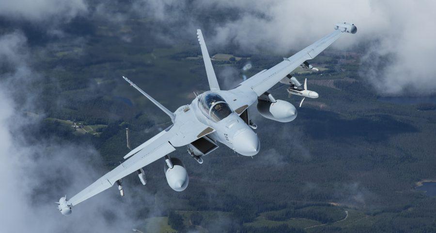 El gobierno de EEUU aprueba el lanzamiento del  EA-18G Growler a Finlandia