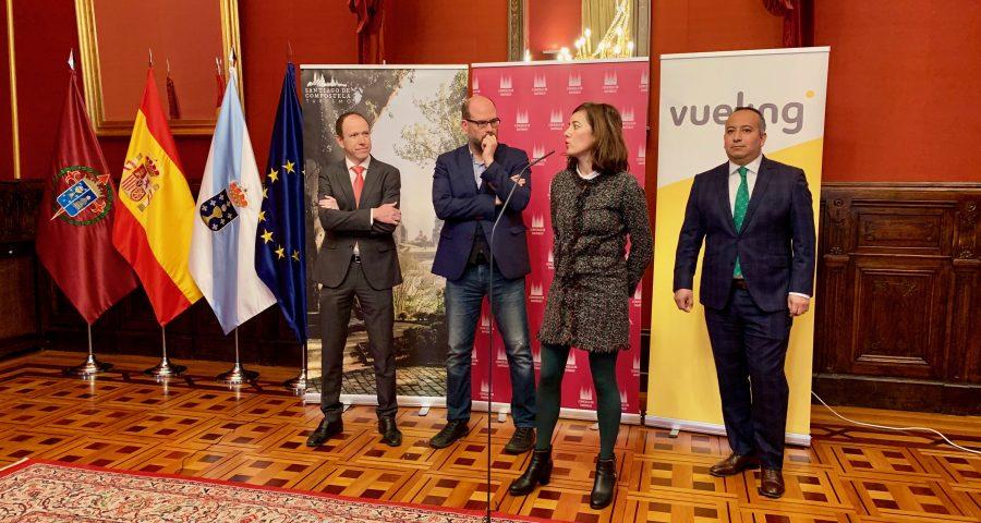 Vueling basa su segundo avión en Santiago de Compostela