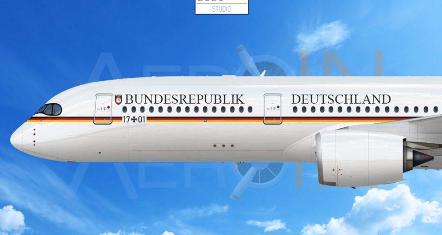 Nuevo avión VIP de la Luftwaffe