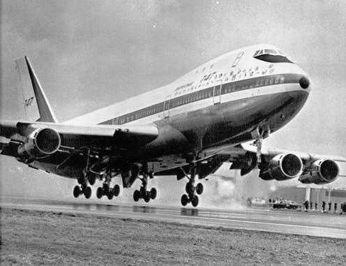 El B747: Reina de los cielos.