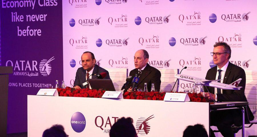 Qatar Airways presenta sus novedades en la ITB de Berlín