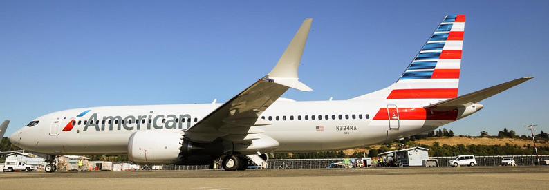 American Airlines cancela más vuelos con el B737MAX