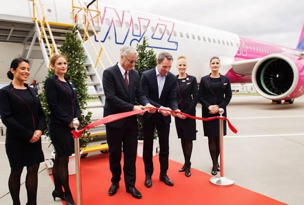 Wizz Air recibe su primer A321neo