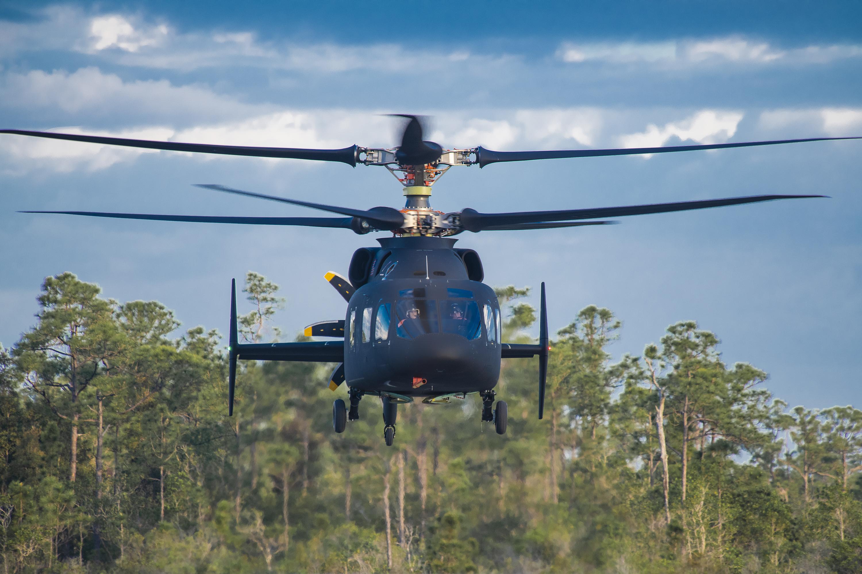 Sikorsky-Boeing SB> 1 DEFIANT ™ Helicopter logra su primer vuelo