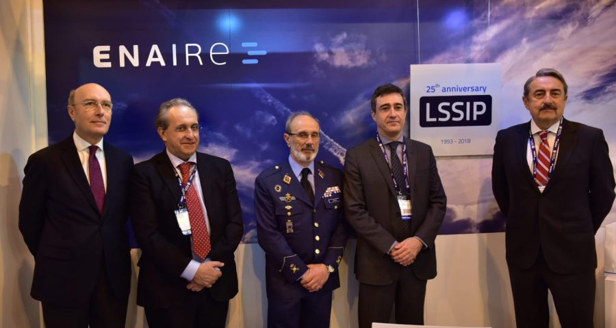 ENAIRE firma el Plan Local para la implantación del Cielo Único Europeo