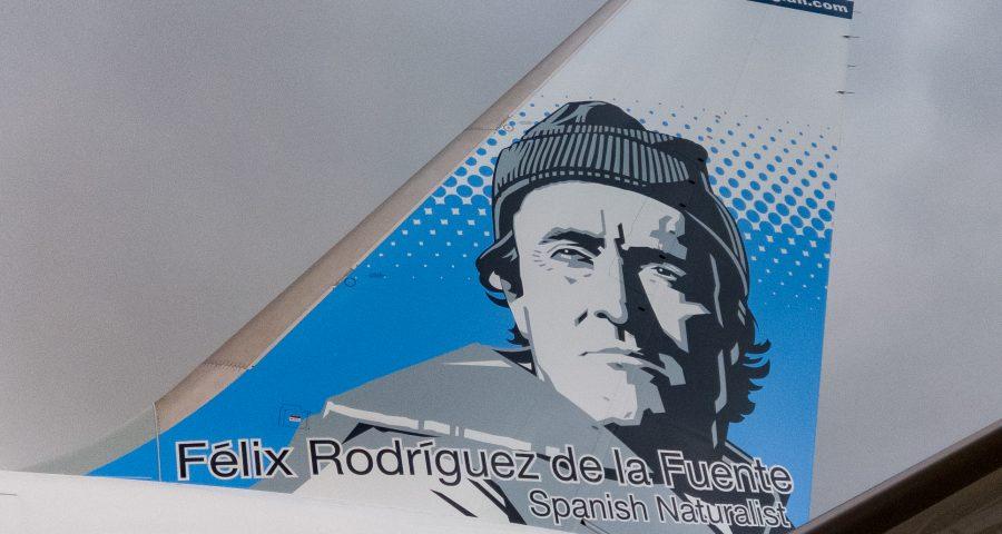 El 2º Felix Rodriguez de la Fuente ya esta en Gatwick