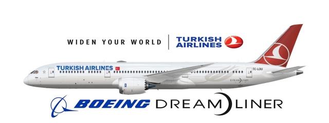 El 787-9 cubrirá la ruta a Nueva York de Turkish Airlines