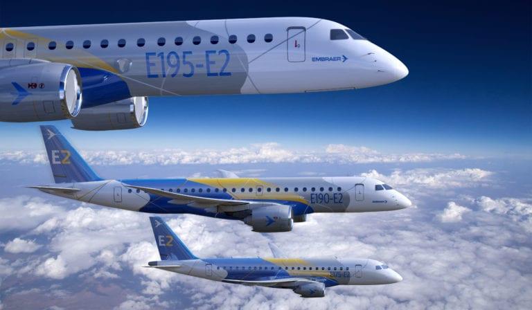 El E195-E2 de Embraer recibe la certificación de la FAA y la EASA