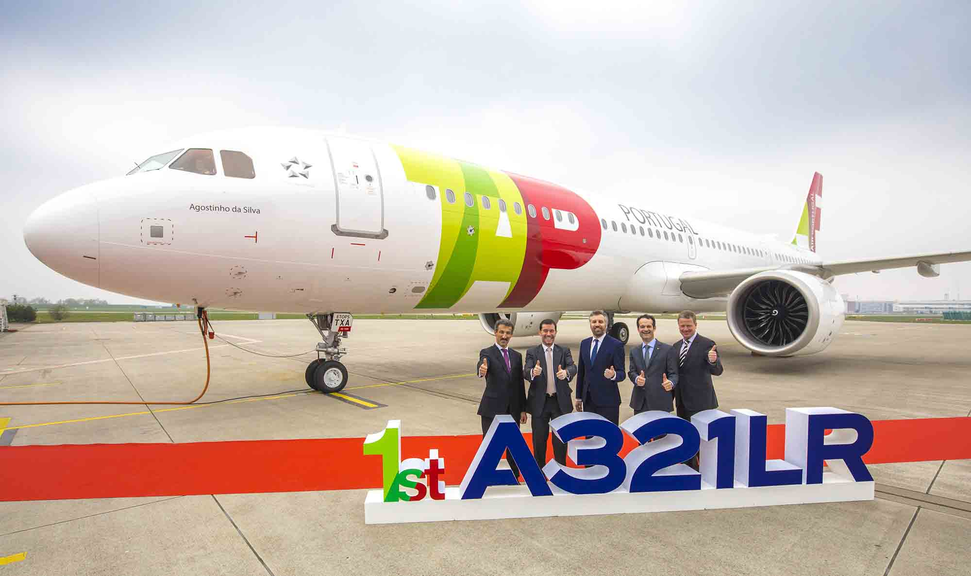 TAP Air recibe su A321LR