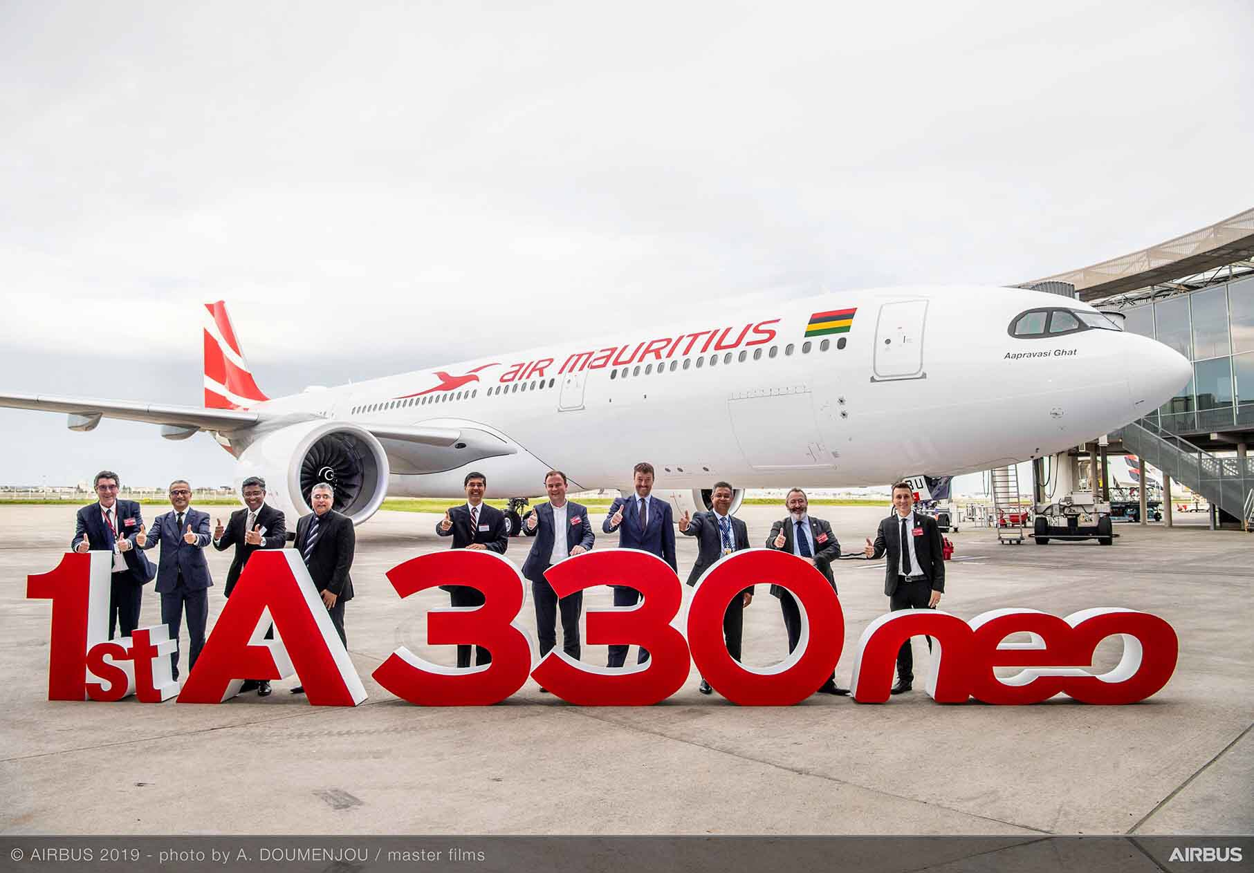 Air Mauritius recibe su primer A330neo