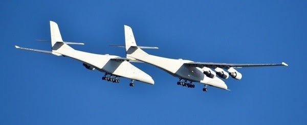 El primer vuelo del Stratolaunch, el avión más grande del mundo