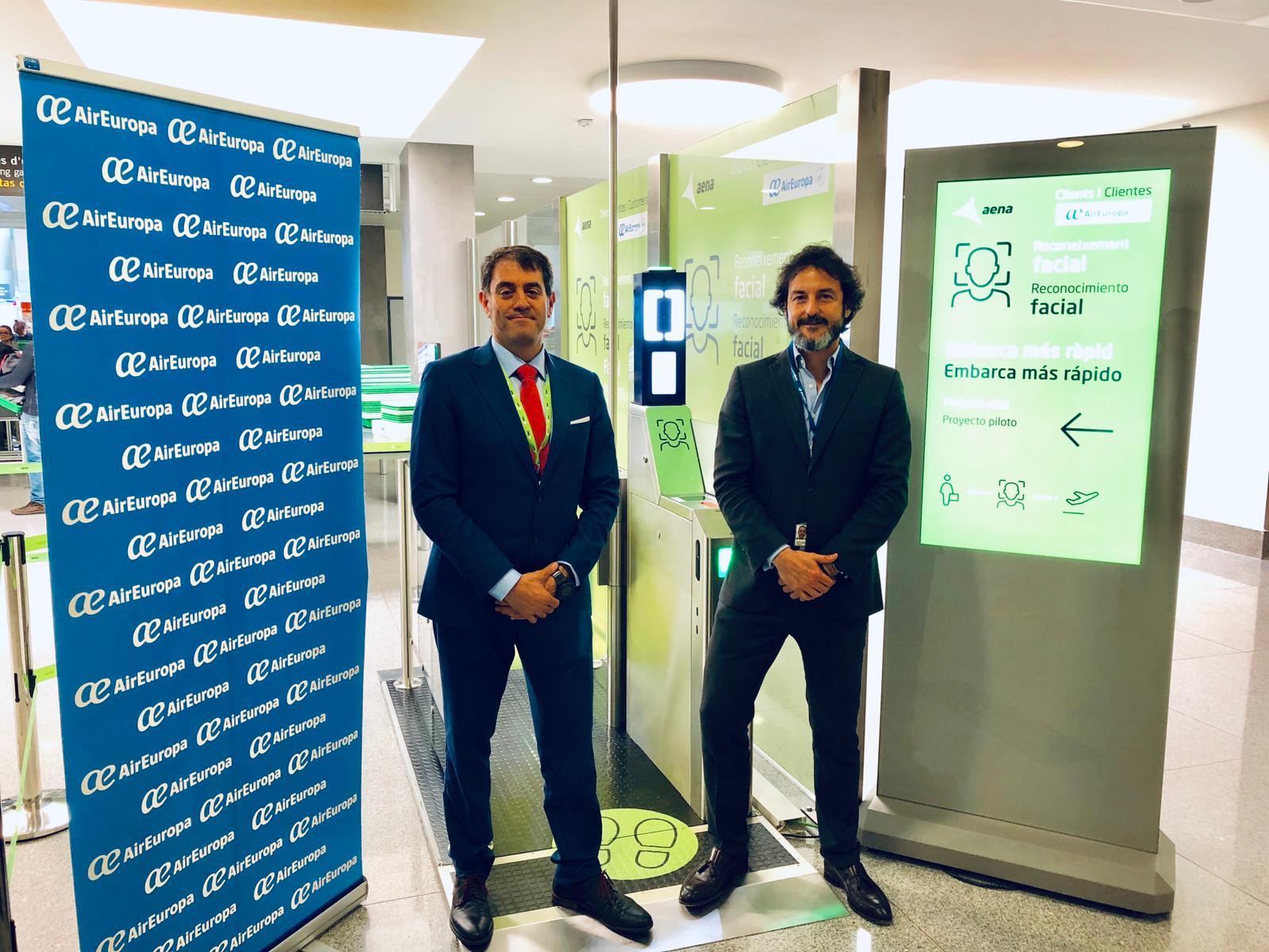 Air Europa pionero en el proyecto de reconocimiento facial