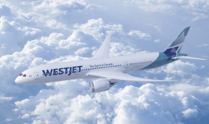 El primer 787 de WestJet realiza su primer vuelo