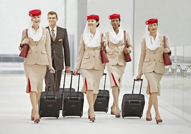 Nueva selección de personal de Emirates