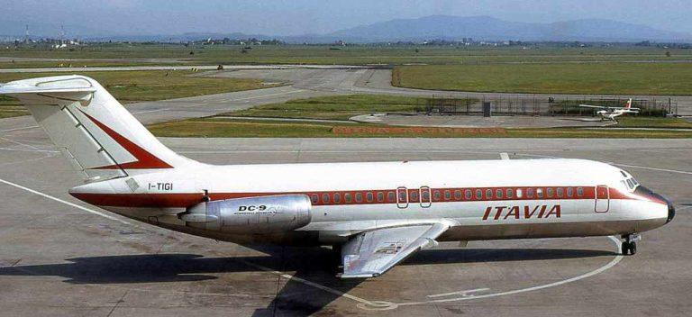 Un DC-9 para un museo único en Bolonia