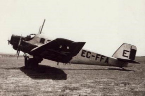 80 años del primer vuelo de Iberia a Lisboa