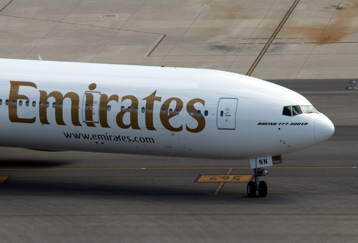 B777 Emirates EK